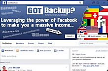 gotbackup facebook group